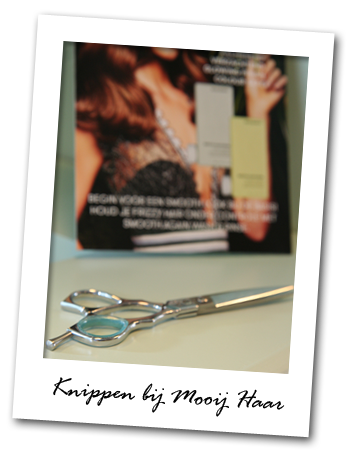 Knippen bij Mooij Haar